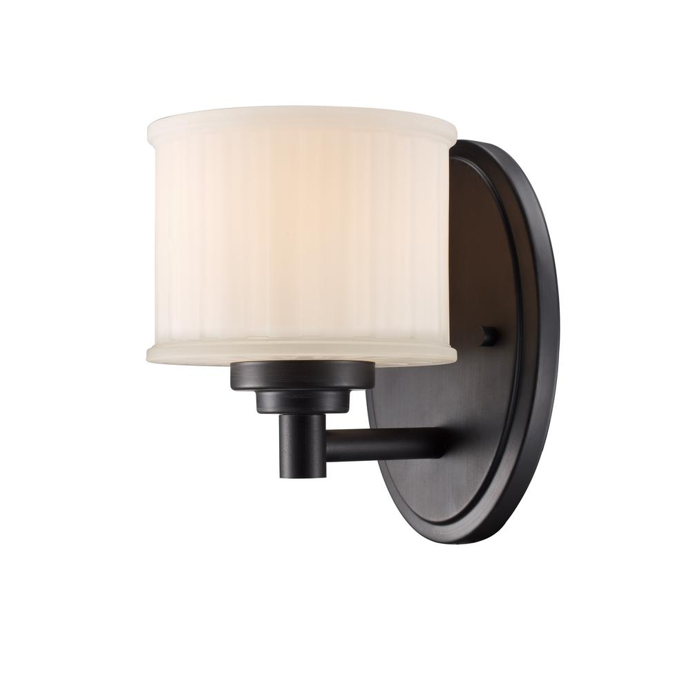 Cahill 1-Light Rubbed Oil Bronze Sconce