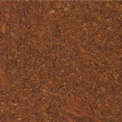 Lisbon Mocha 1/2 in. Thick x 11-3/4 in. Wide x 35-1/2 in. Length Cork Flooring (23.17 sq. ft. / case)