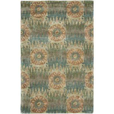 Indulgence Blue 5 ft. x 7 ft. 9 in. Extremely Plush Indoor Area Rug
