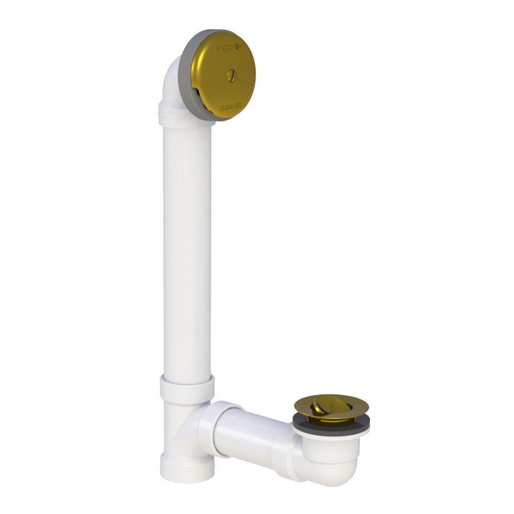 600 Series 16 in. Sch. 40 PVC Bath Waste - PresFlo