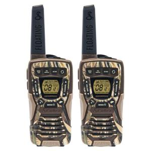 Cobra 37-Mile Range Rugged and Floating 2-Way Radio, Camo by Cobra