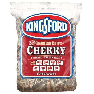 179 cu. in. BBQ Cherry Wood Chips
