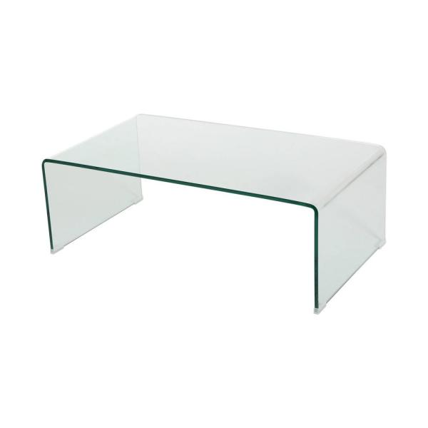 Small Tempered Glass Coffee Table