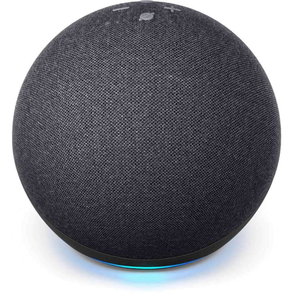 Amazon Echo 4th Gen Charcoal (Pre-Sale Available to Ship 10-22) in Black   B07XKF5RM3