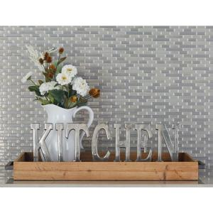 Stained Brown Decorative Tray