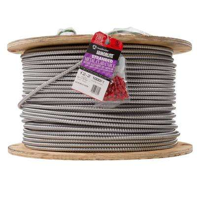 12/2 x 1,000 ft. Stranded CU MC (Metal Clad) Armorlite Cable