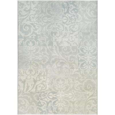 Marina Cyprus Pearl-Champagne 9 ft. x 13 ft. Area Rug