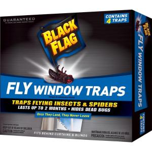 Black Flag Fly Window Trap (4-Pack) by Black Flag