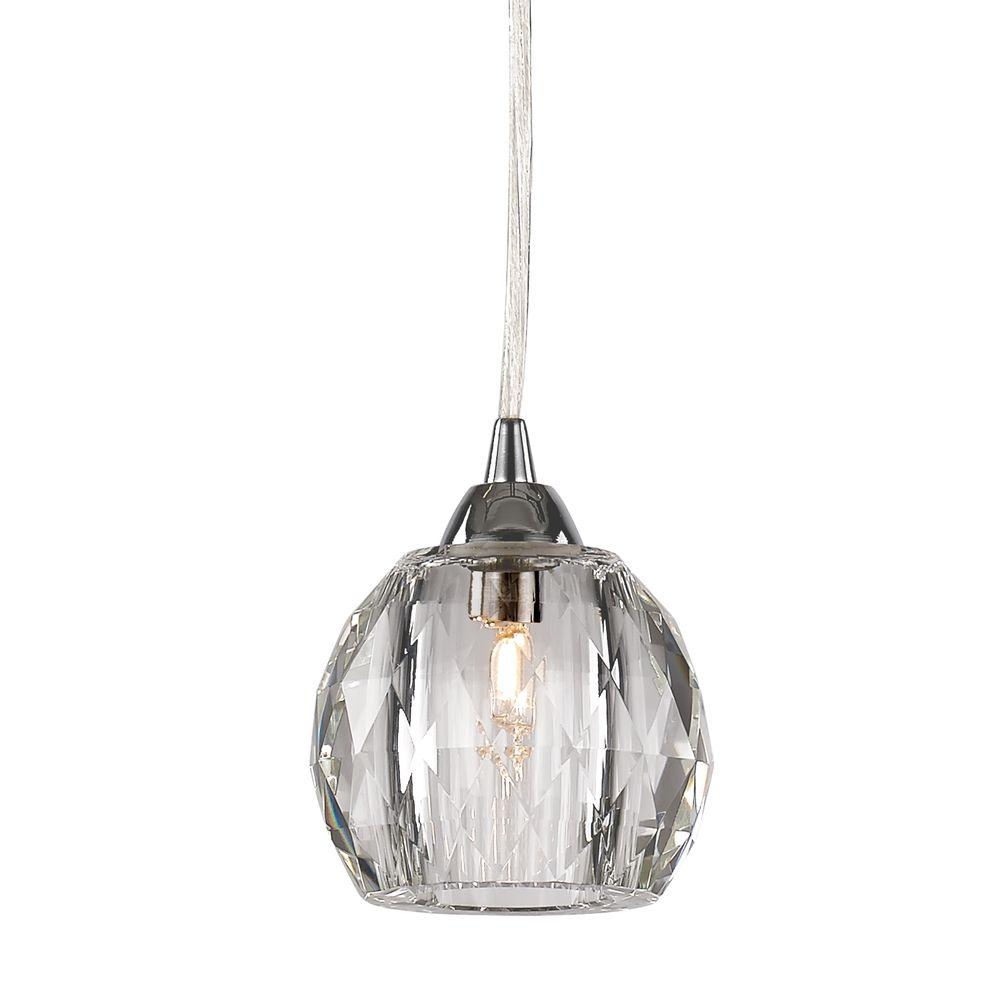 crystal shades chrome pendant light ball small cake products polished of wedding
