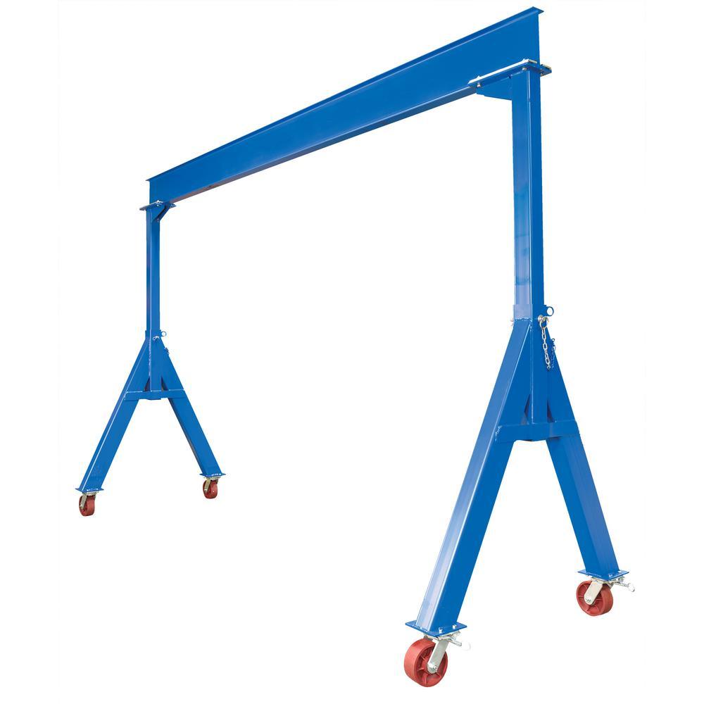 Vestil 10,000 lbs. 15 ft. Capacity Steel Fixed Height Gantry Crane by Vestil
