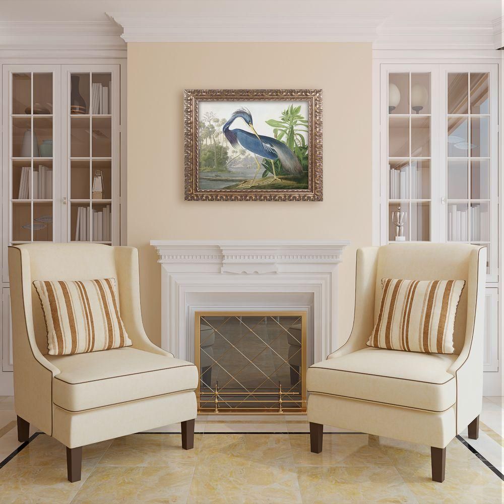 "Trademark 16 in. x 20 in. ""Louisiana Heron"" by John James..."