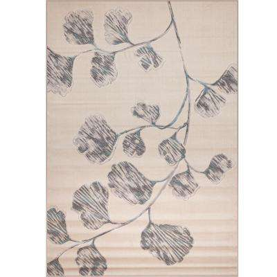 Broadway Aster Ivory 5 ft. 3 in. x 7 ft. 9 in. Area Rug