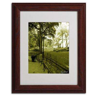11 in. x 14 in. Pines IV Matted Framed Art