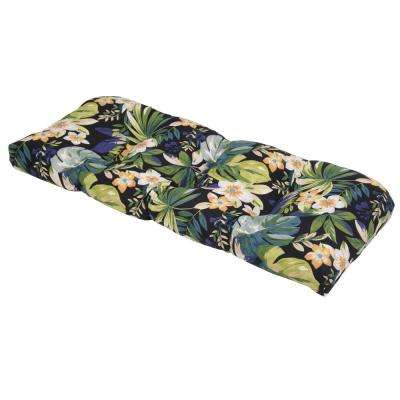 Caprice Tropical Outdoor Settee Cushion