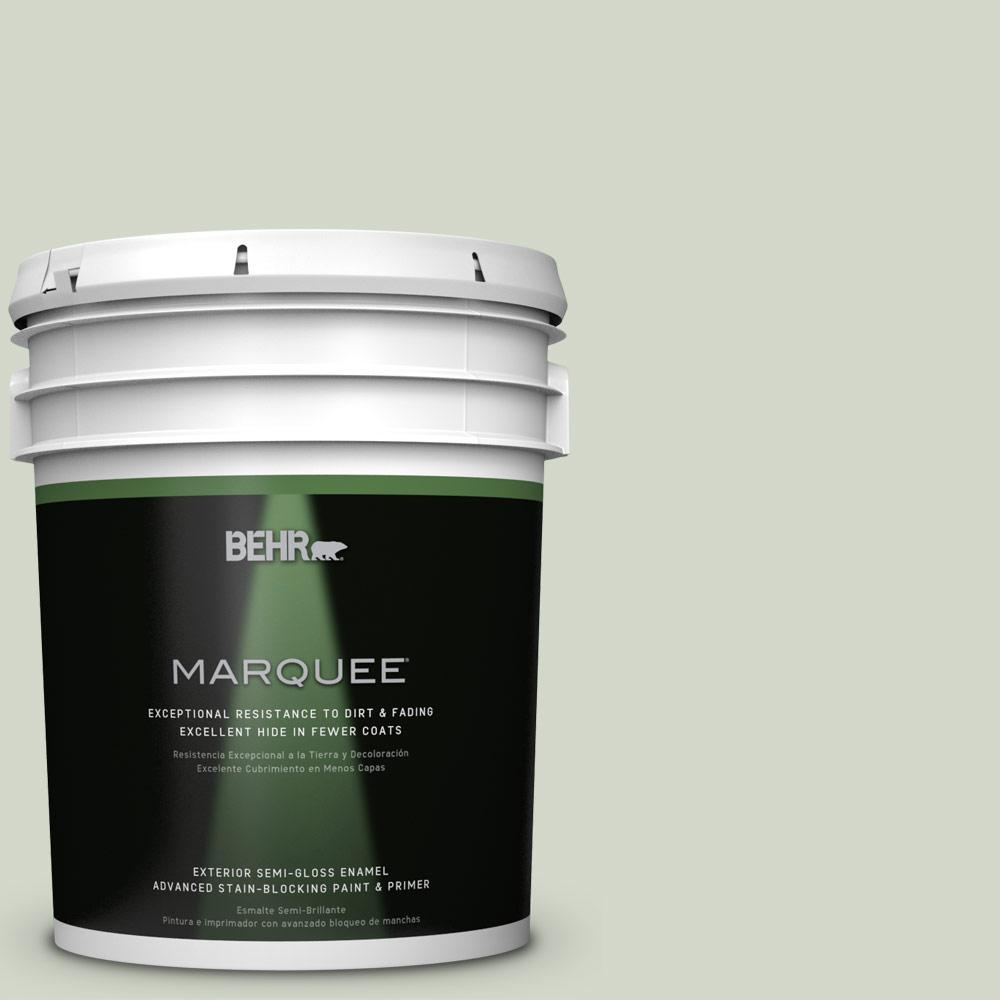 BEHR MARQUEE Home Deocrators Collection 5-gal. #HDC-CT-25 Bayberry Frost Semi-Gloss Enamel Exterior Paint