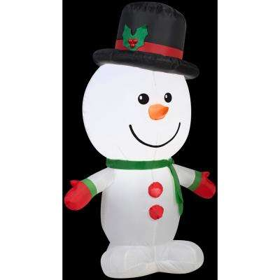 2 ft. W x 3.5 ft. H Outdoor Snowman