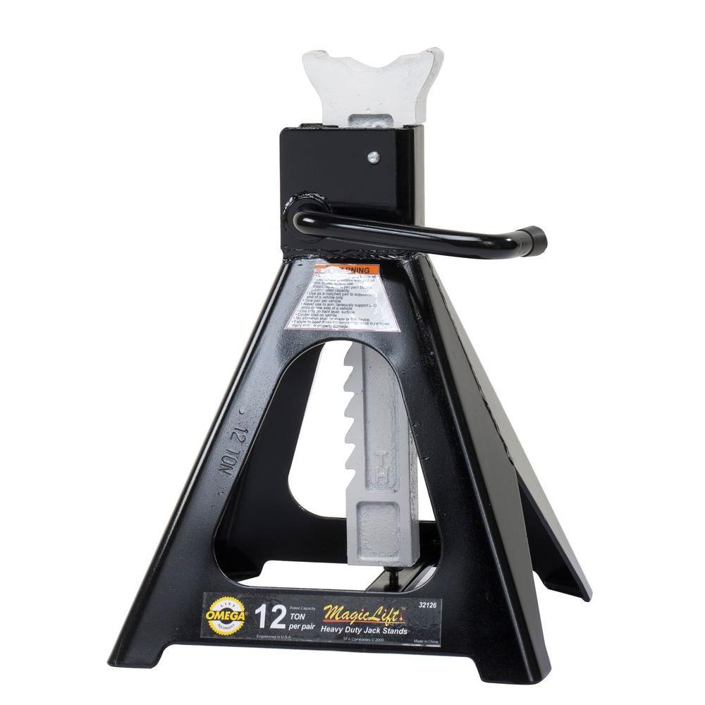 12-Ton Magic Lift Jack Stands