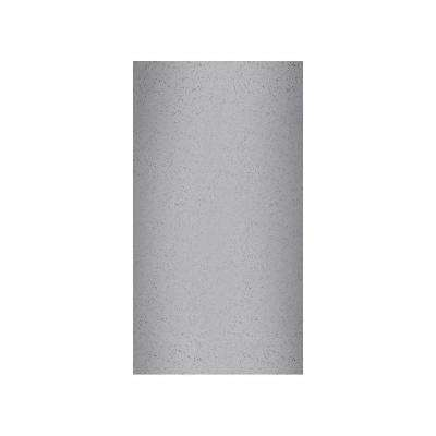 Crystal Colors 48 in. x 96 in. 1-Piece Easy Up Adhesive Corner Panel in Gray Glass