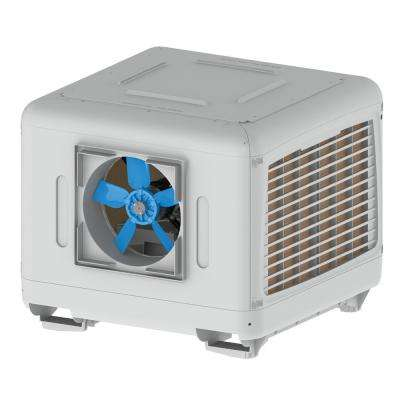 7000 CFM 2-Speed Down/Side Discharge Roof Top Evaporative Cooler for 2500 sq. ft. (with Motor)
