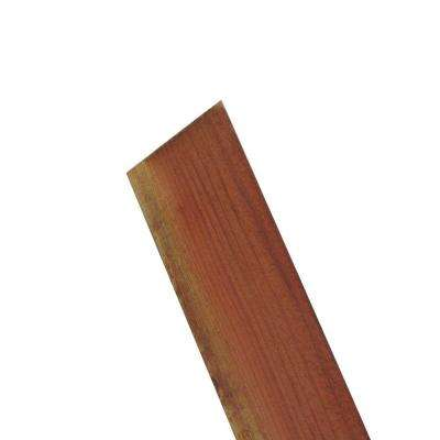 FSC ConCom 11/16 in. x 5-1/2 in. x 6 ft. Redwood Flat Top Fence Picket