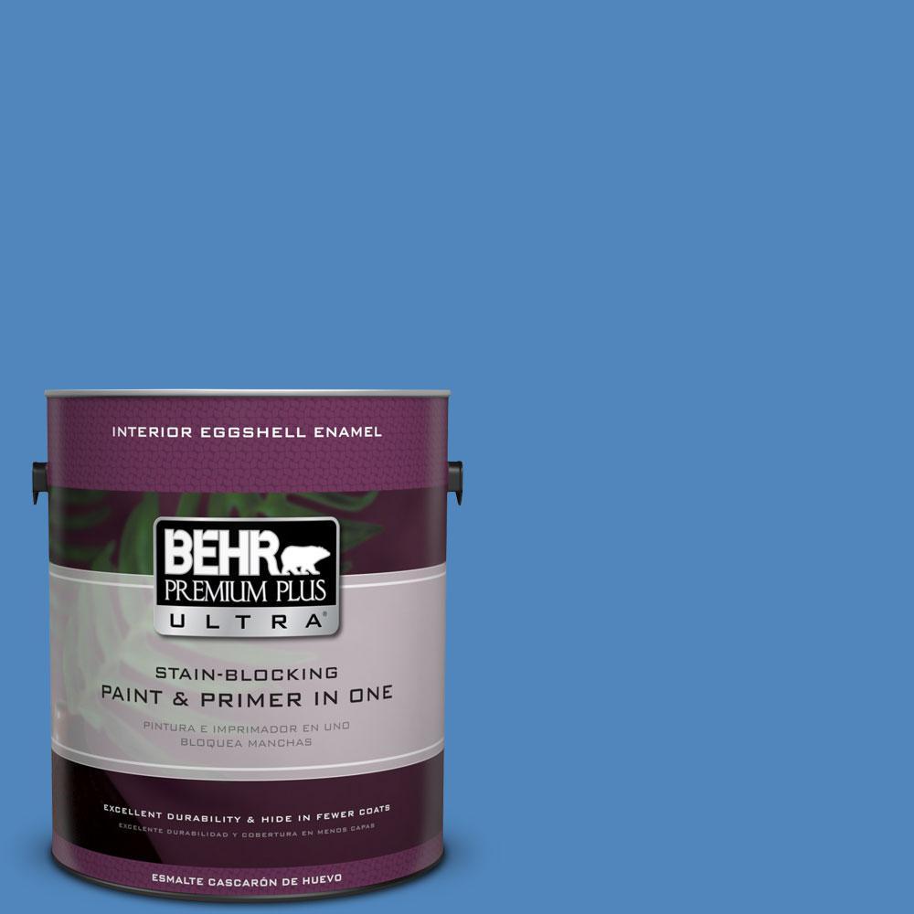 BEHR Premium Plus Ultra 1-gal. #570B-6 Handsome Hue Eggshell Enamel Interior Paint