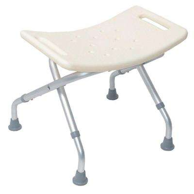 Foldable Bath Seat in White