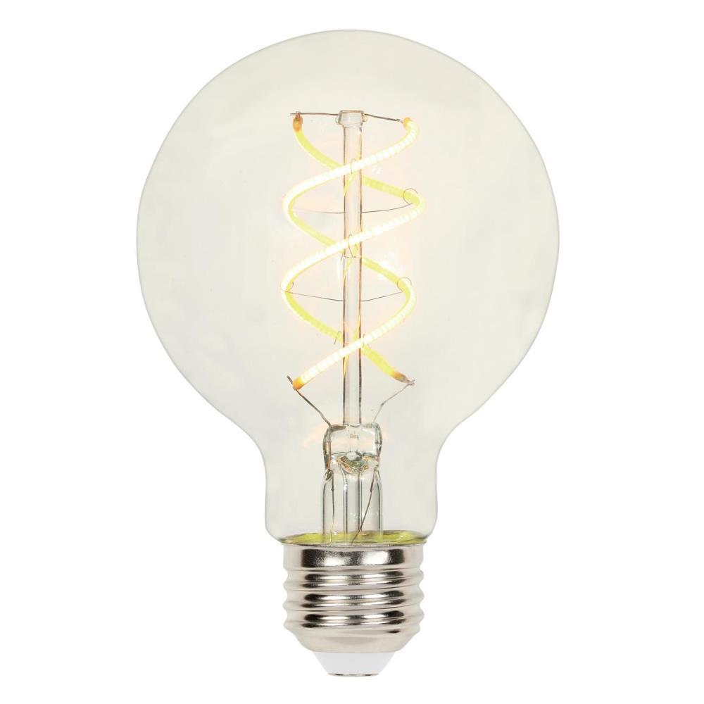 25-Watt Equivalent G25 Dimmable 2700K Flexible Filament LED Light Bulb