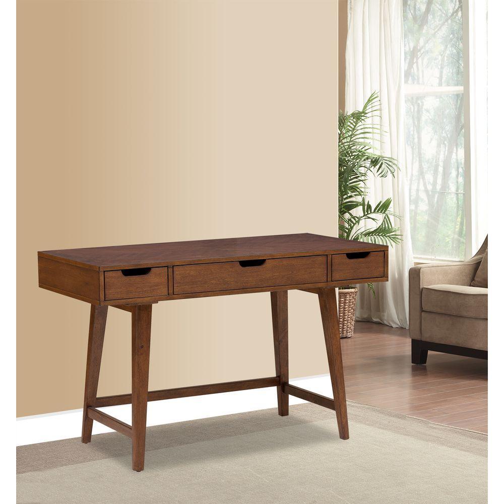 53835b4466c2 Pulaski Furniture Brown Desk-DS-A130-550 - The Home Depot