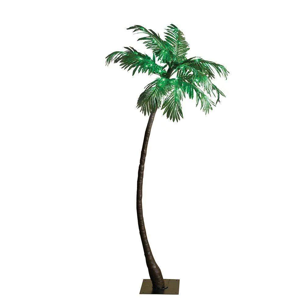 Electric Green Palm Tree