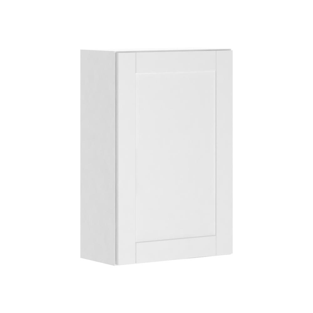 Hampton Bay Princeton Shaker Assembled 24x36x12 In Wall Cabinet In
