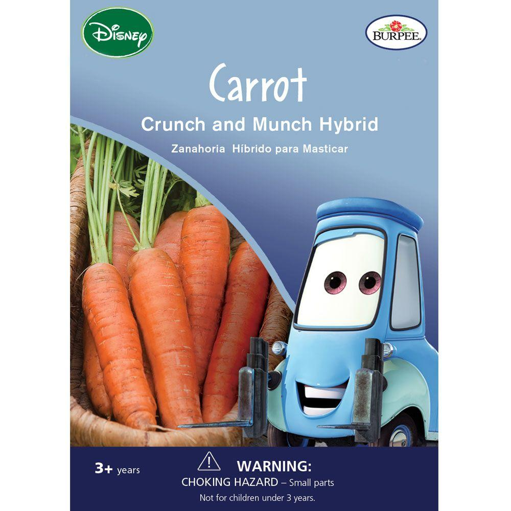 Crunch and Munch Hybrid Carrot Seed