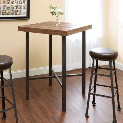 Fowler Industrial Brown Bar Table