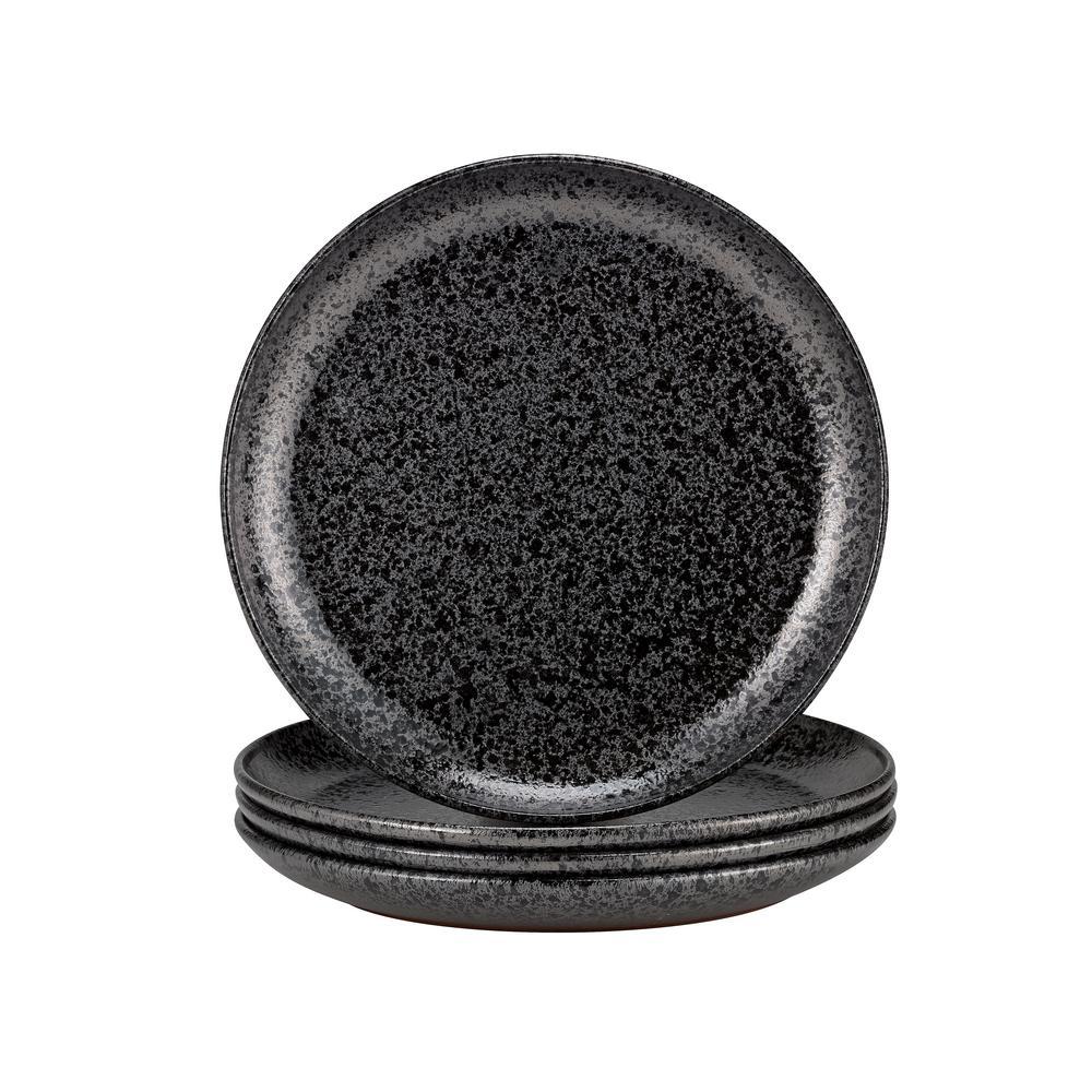 Volcanic Black Dinner Plate (Set of 4)