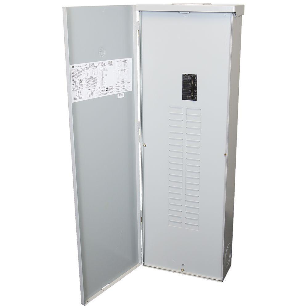 PowerMark Gold 200 Amp 40-Space 40-Circuit Outdoor Main Breaker Circuit Breaker Panel