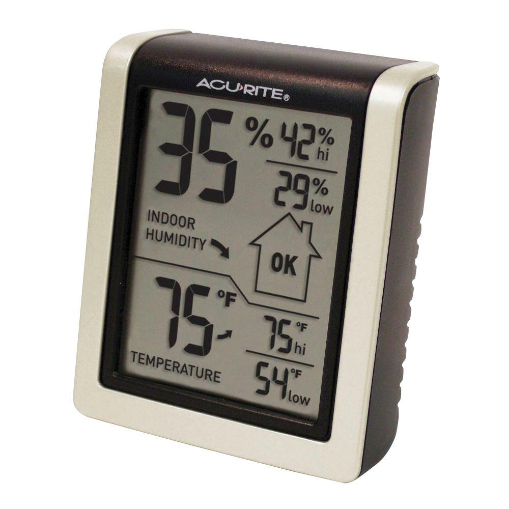 Acurite Digital Humidity And Temperature Comfort Monitor