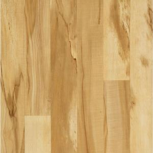 Hampton Bay Toasted Spalted Maple Laminate Flooring 5 In X 7 In Take Home Sample