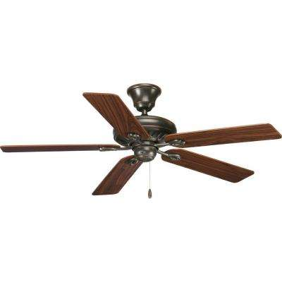 AirPro Signature 52 in. Indoor Antique Bronze Rustic Ceiling Fan