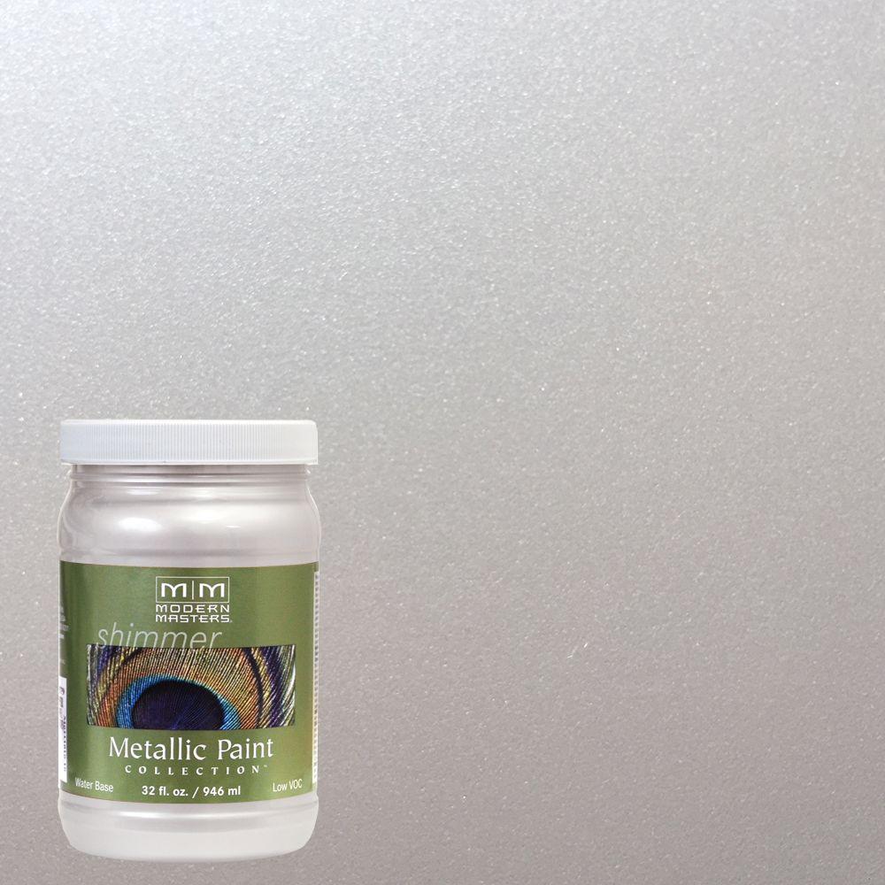1 qt. Oyster Metallic Interior/Exterior Paint