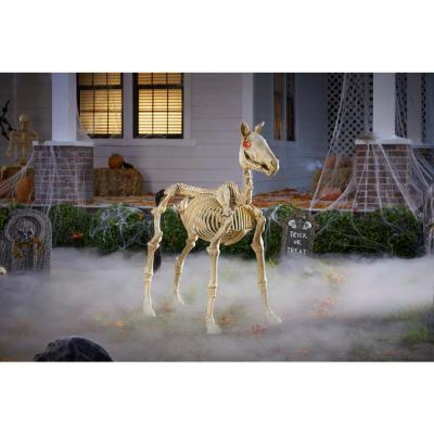4 ft. LED Skeleton Pony