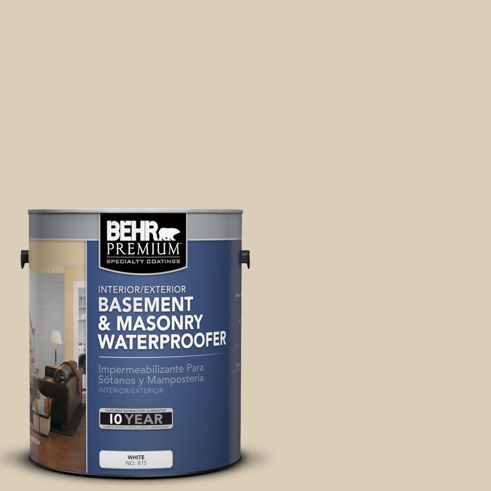 BEHR Premium 1 gal. #BW-41 Coastal Sands Basement and Masonry Waterproofer