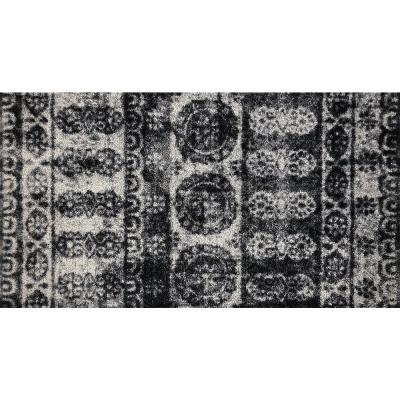 In-Home Washable/Non-Slip Lotus 2 ft. 3 in. x 3 ft. 11 in. Area Rug & Mat