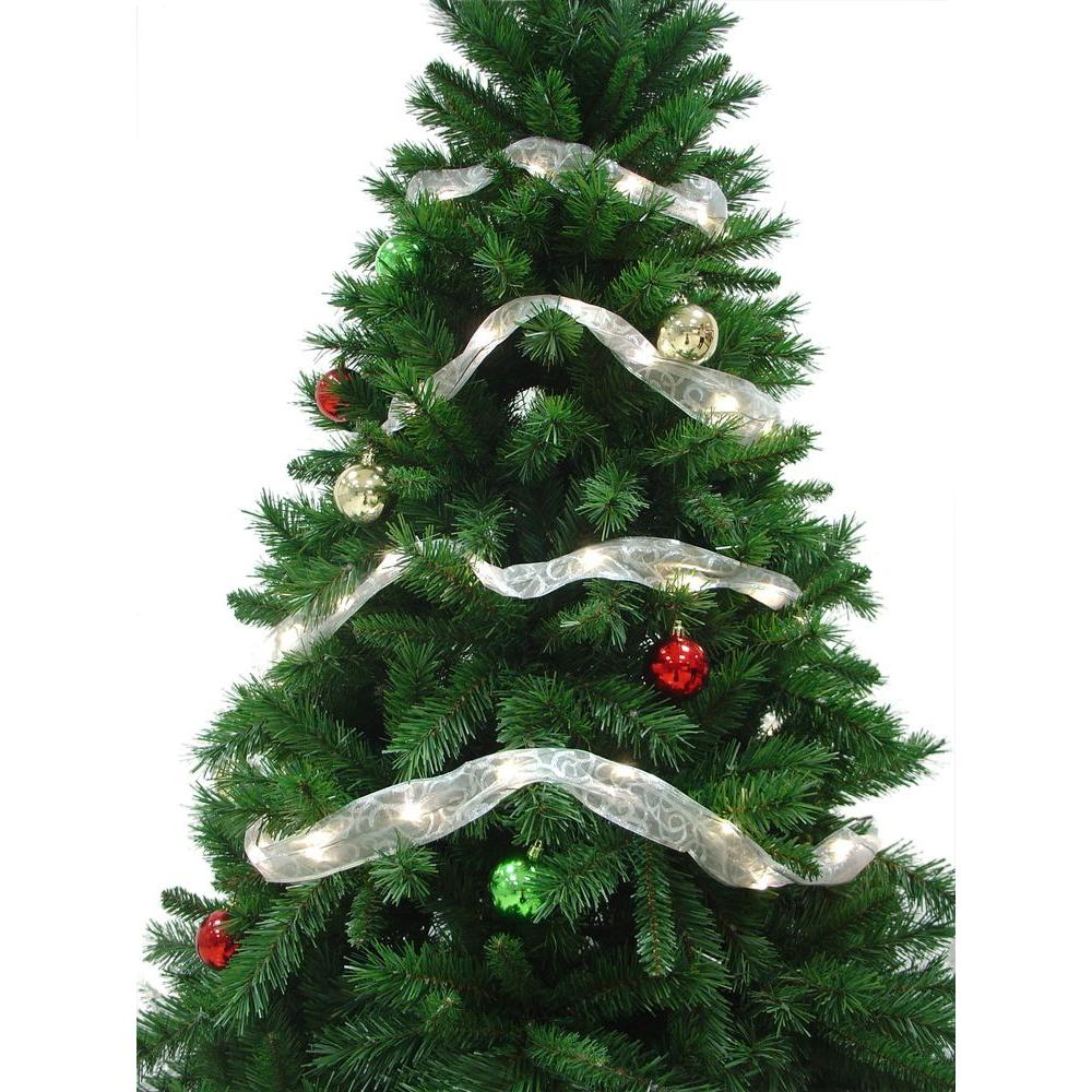 Starlite Creations 12 ft. 36-LED White Ribbon Lights-RL34-W012-A ...