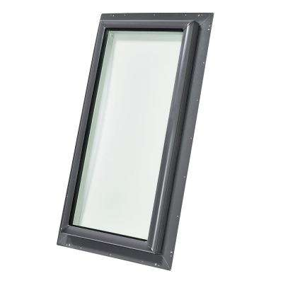 30-1/2 in. x 46-1/2 in. Fixed Pan-Flashed Skylight with Tempered Low-E3 Glass