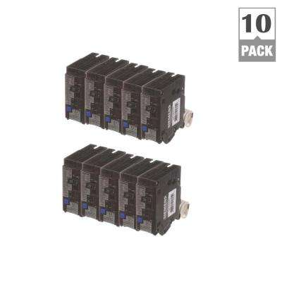 20 Amp Single Pole Combination AFCI Circuit Breakers (10-Pack)