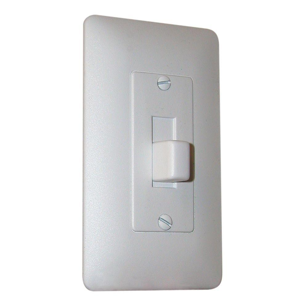 Taymac White 1 Gang Toggle Wall Plate 1 Pack 5070w The Home Depot