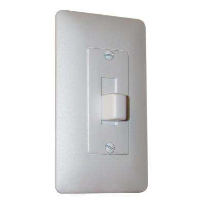 1-Gang Toggle Wall Plate Cover - White Textured (25-Pack)