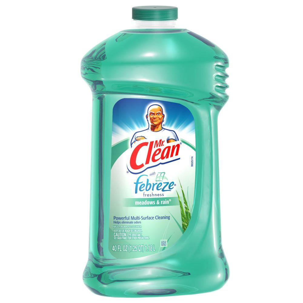 Mr Clean 40 Oz Multi Purpose Cleaner Meadows And Rain