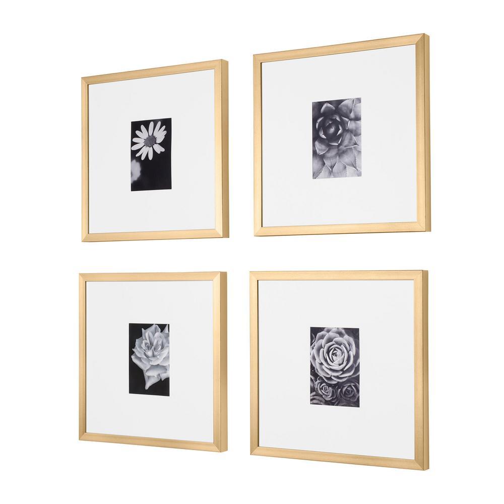3 Piece White Photo Frame Set Holds