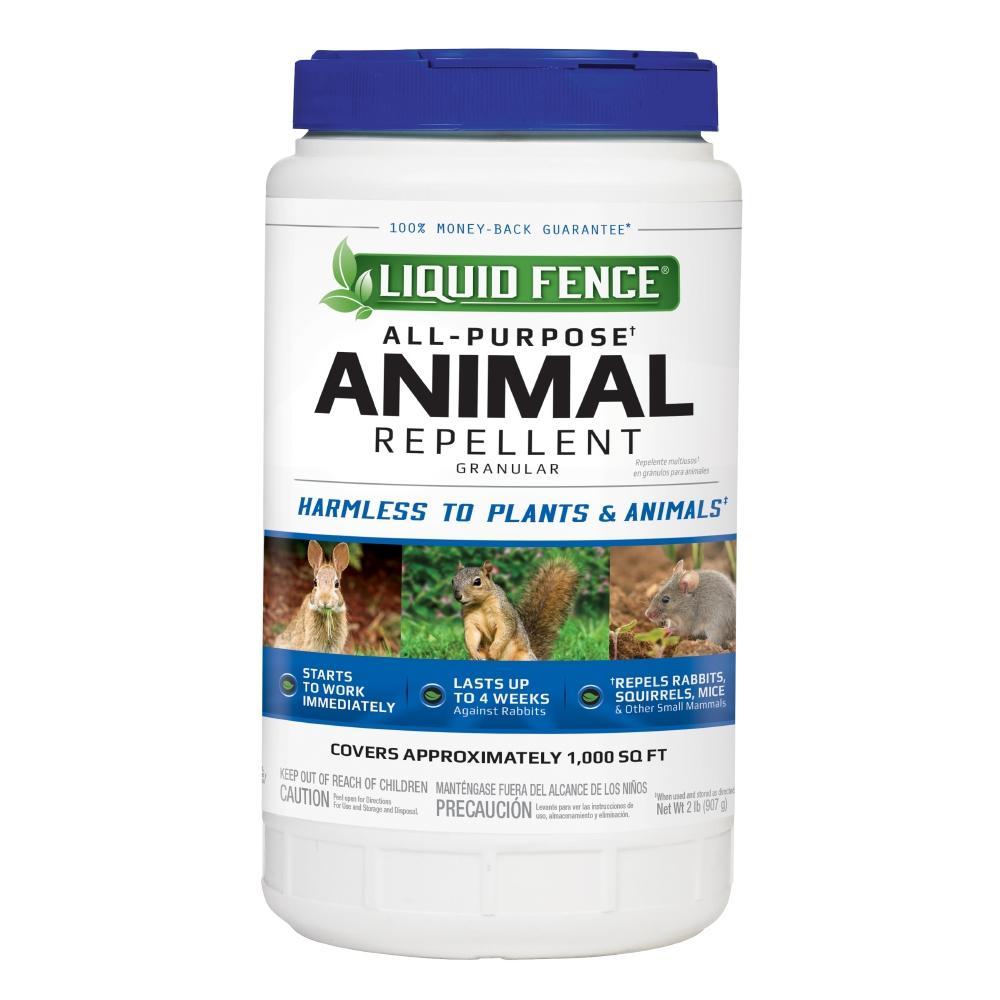 Liquid Fence 2 Lb Granule All Purpose Animal Repellent Hg