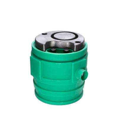 9JP2V2D Pit+Plus Jr. System 0.4 HP Submersible Sewage Pump with Basin and ECM Switch